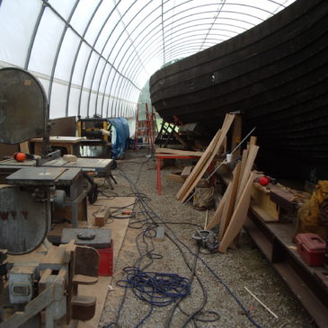 Viking ship from 1893 Chicago world's fair begins much-needed voyage to restoration