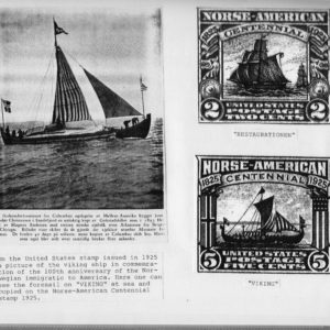 1825 to 1925 Norse-American Centennial Stamps